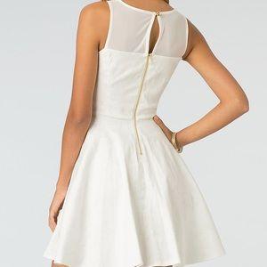 Cute White 7/8 XOXO Dress